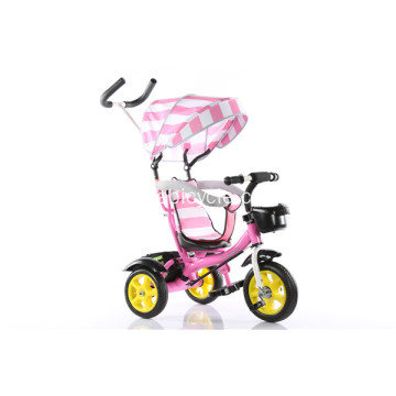 Katlanabilir Bebek Tricycle Kids Trike